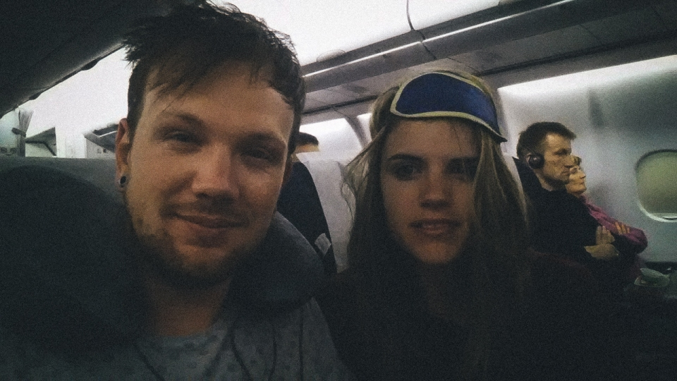 Plane to Frankfurt