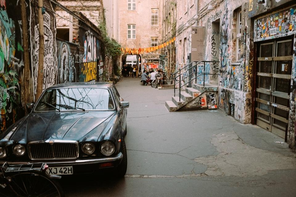 Backstreets of Berlin Mitte
